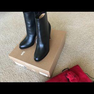 31b47e8221bc Christian Louboutin Shoes - Christian Louboutin Adox Black leather bootie 8  38